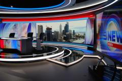 9 News Perth Broadcast Set Design Gallery