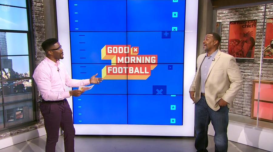 Good Morning Football Broadcast Set Design Gallery