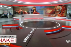 Antena 3 Noticias Broadcast Set Design Gallery