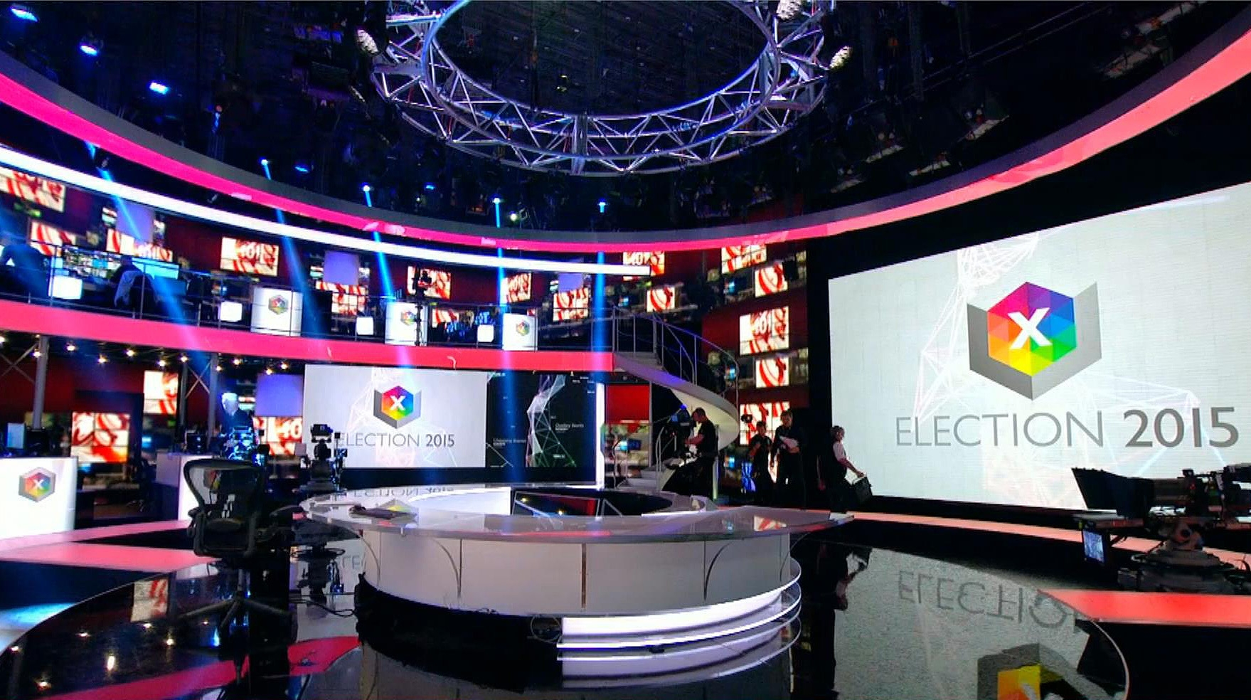 Fifth image of Election Design Gallery with BBC Election 2015 Broadcast Set Design Gallery