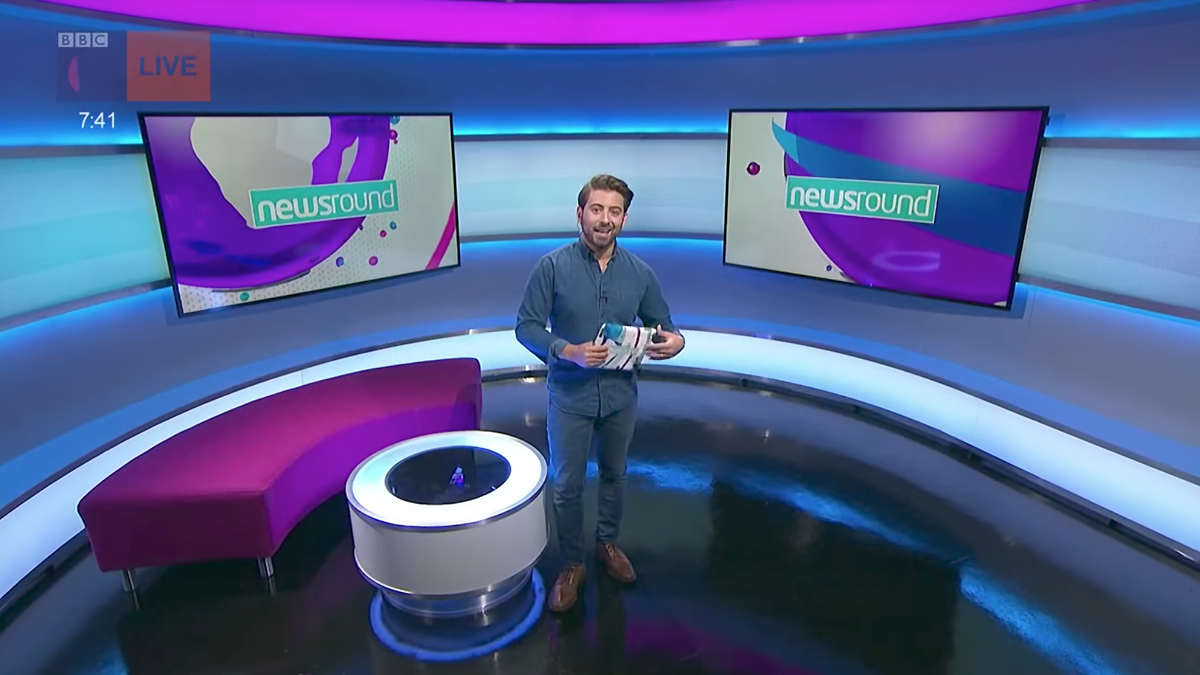 Newsround Incorporates Curves Splashes Of Color In New