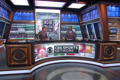 Cbs Sports Network Broadcast Set Design Gallery