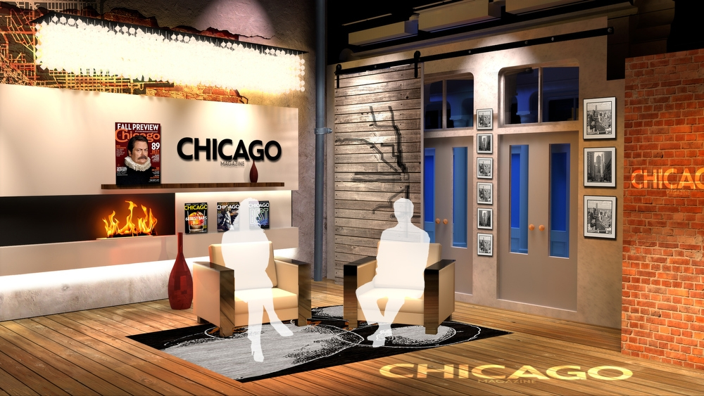Chicago magazine set design gallery