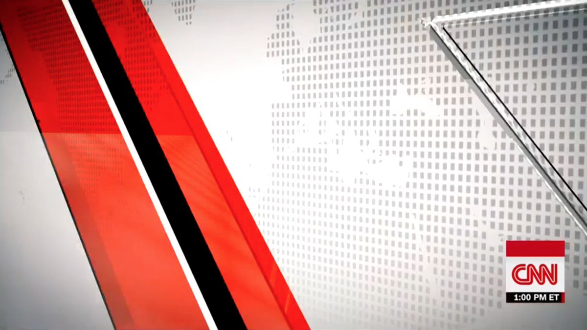 CNN Newsroom Motion Graphics and Broadcast Design Gallery