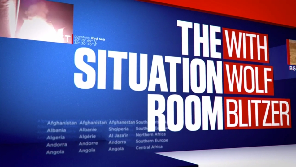 The Situation Room Motion Graphics Gallery