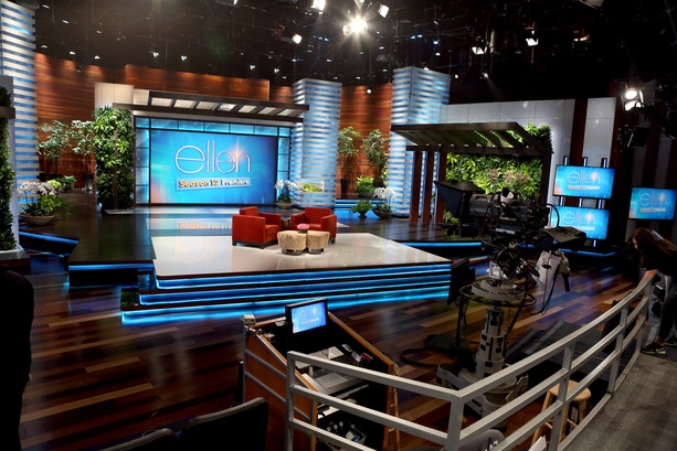 The ellen degeneres show broadcast set design gallery - Ellen show address ...