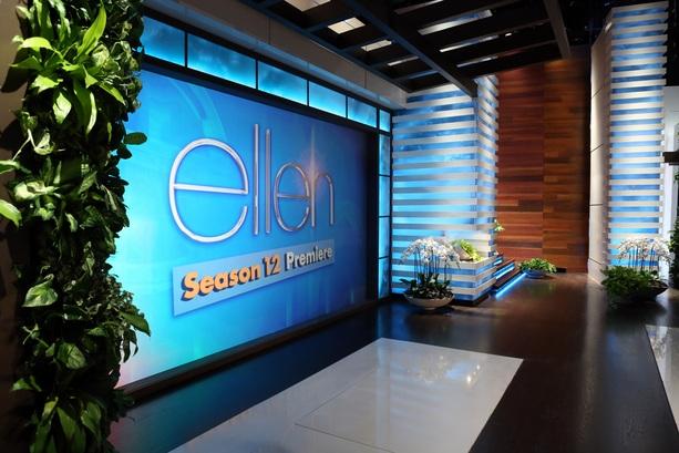 The Ellen Degeneres Show Broadcast Set Design Gallery