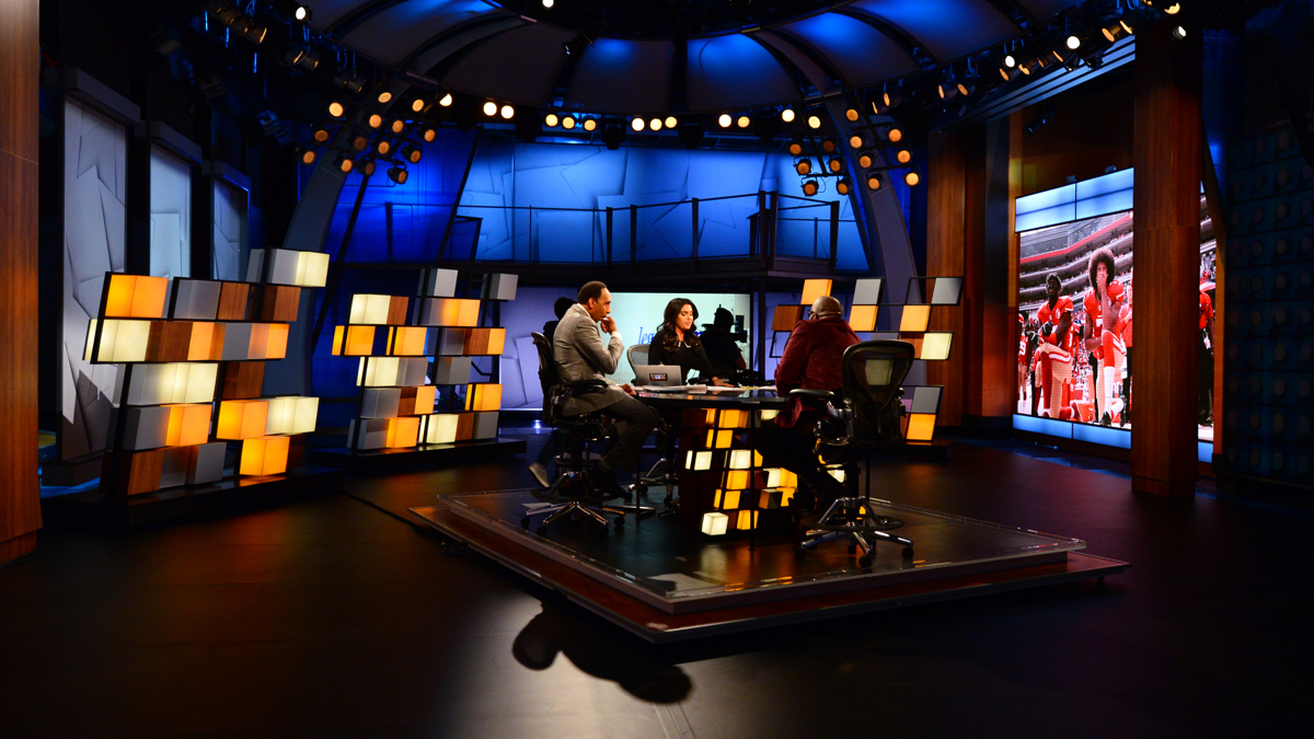 Espn First Take Broadcast Set Design Gallery
