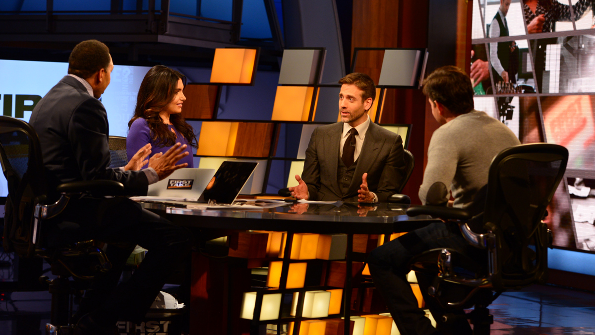 Espn First Take Set Design Gallery