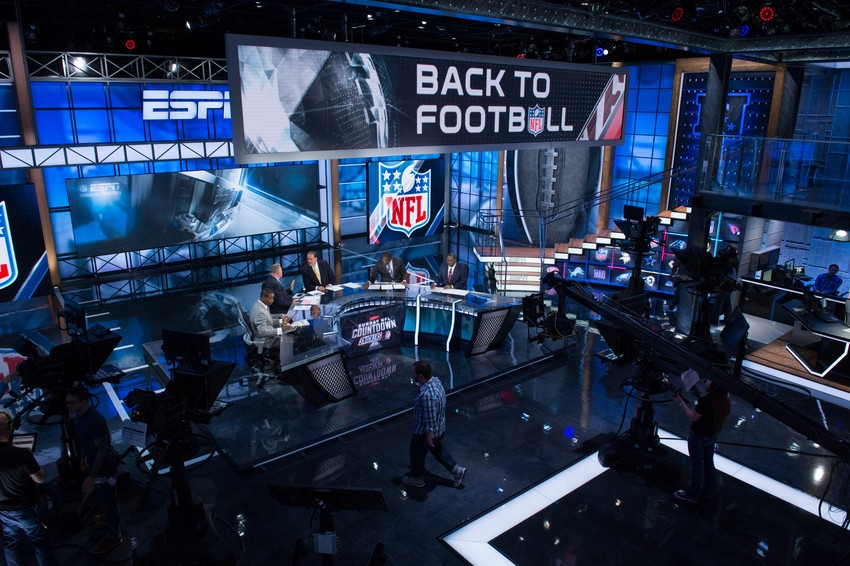 Espn Studio W Broadcast Set Design Gallery