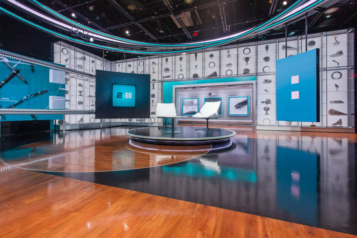 Espn Studio Z Broadcast Set Design Gallery
