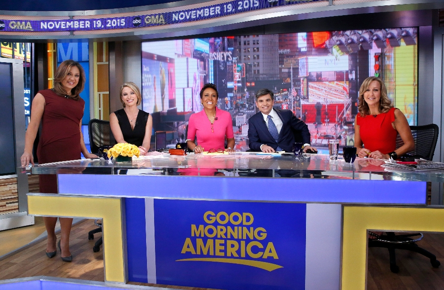good morning america broadcast set design gallery
