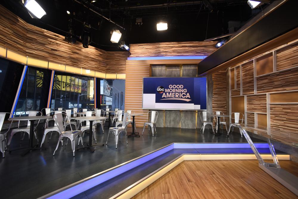 Good Morning America Abc : Good morning america set design gallery