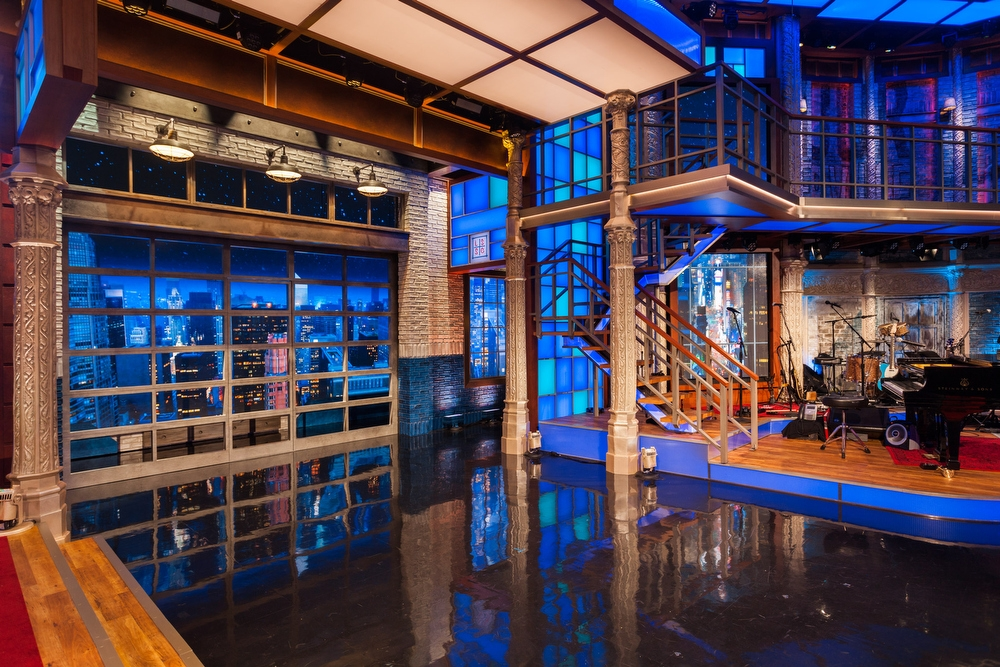 The Late Show With Stephen Colbert Broadcast Set Design