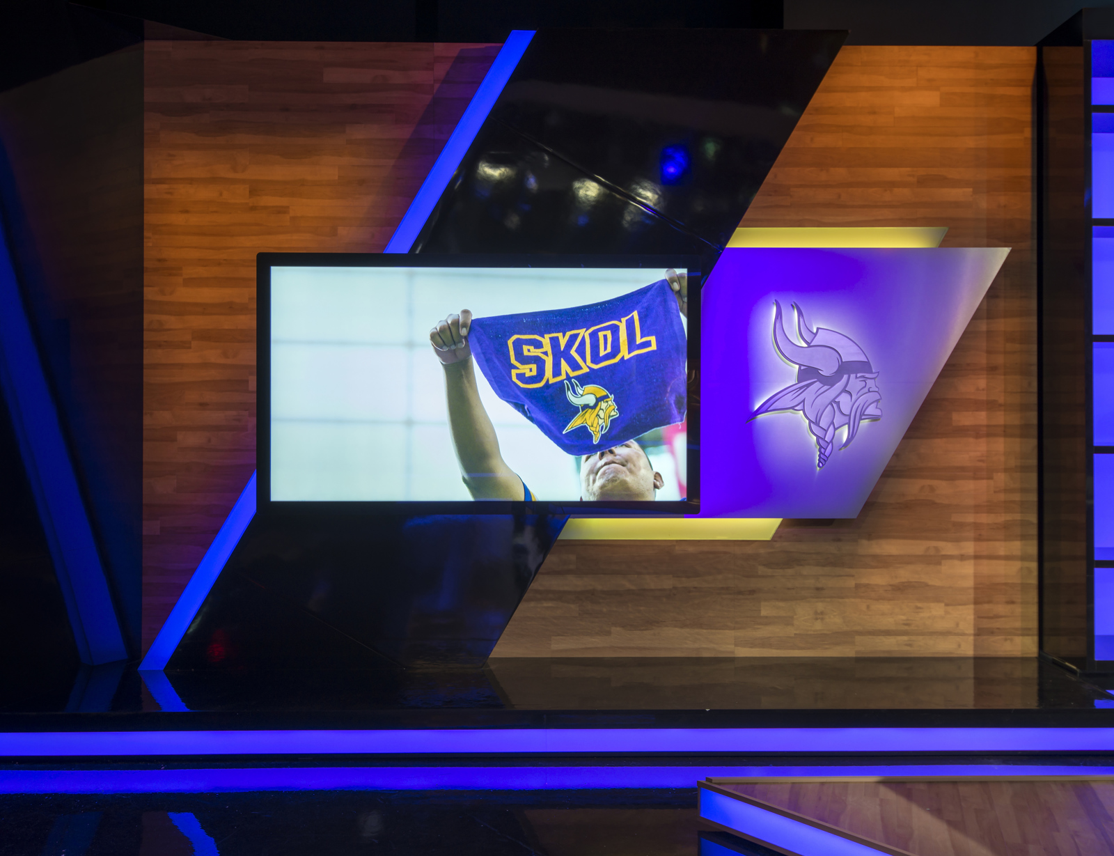 Minnesota Vikings - Vikings Entertainment Network studio