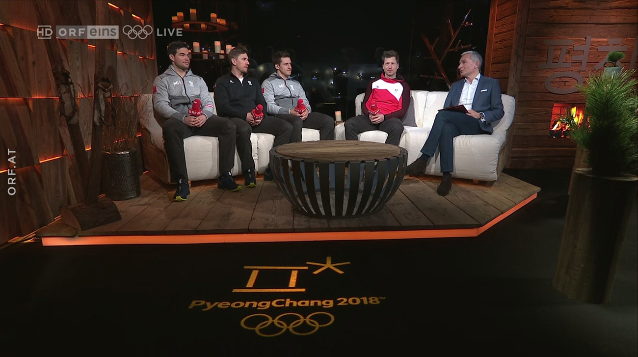 ORF PyeongChang Olympics Broadcast Set Design Gallery