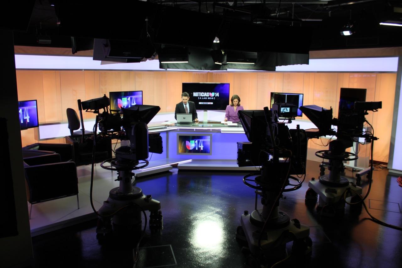 KDTV-TV Broadcast Set Design Gallery