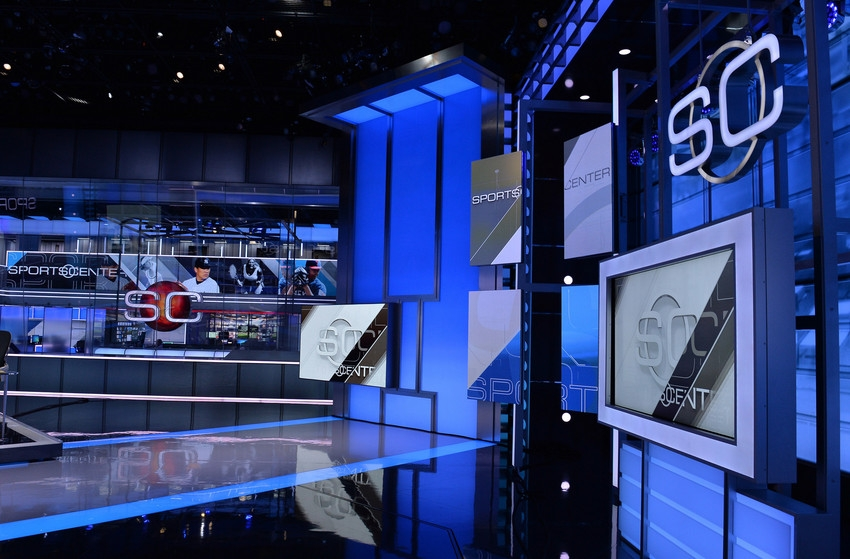Sportscenter Broadcast Set Design Gallery