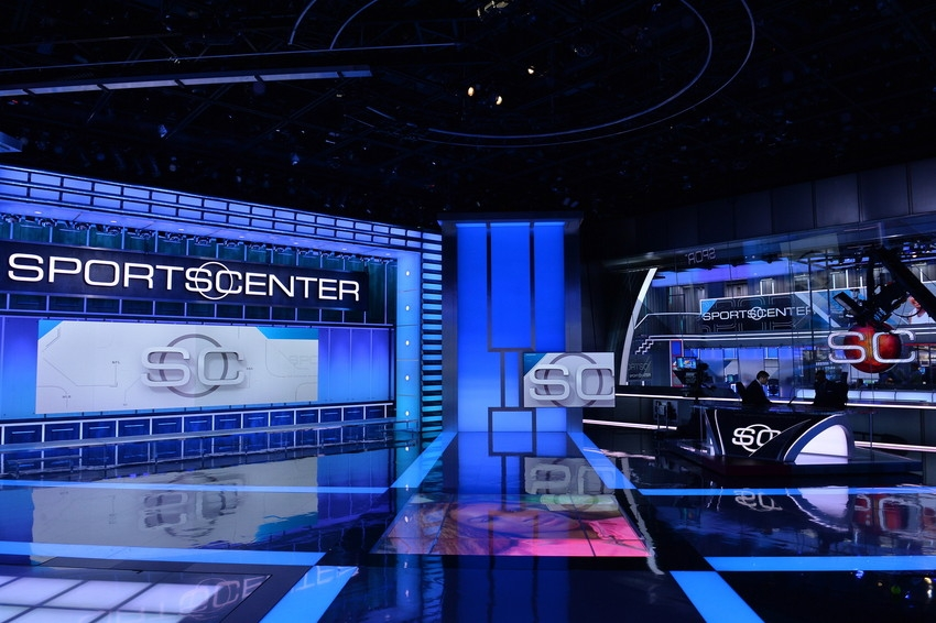 Sportscenter Set Design Gallery