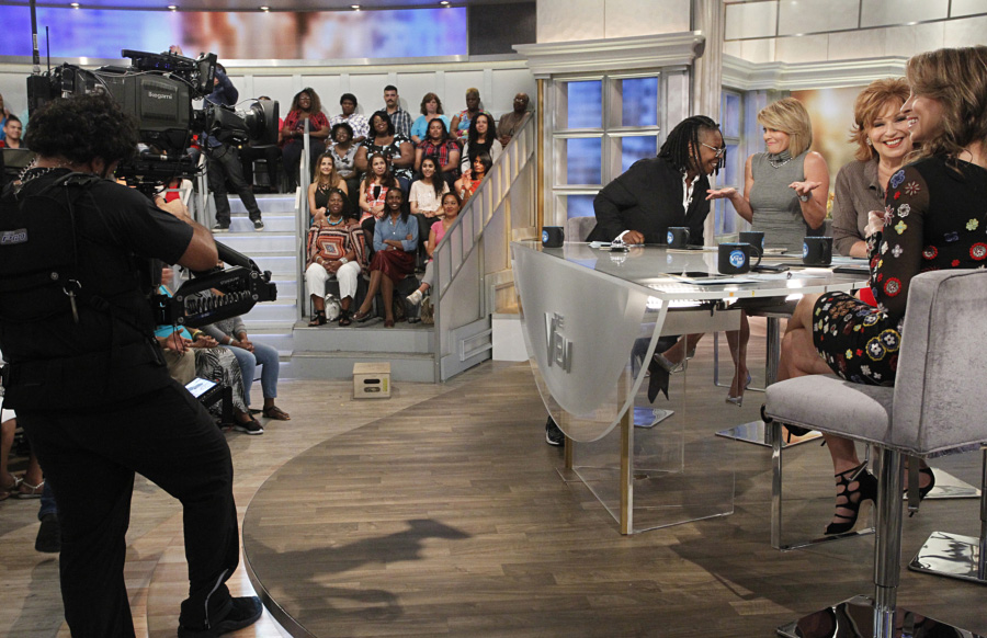 The View Broadcast Set Design Gallery