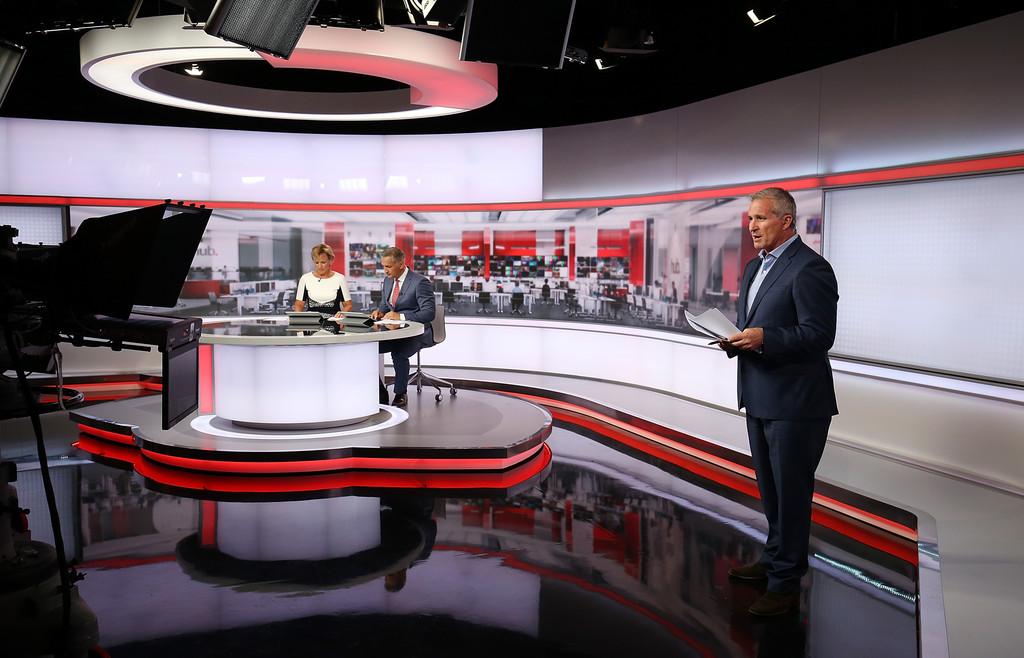 TV3 Newshub Broadcast Set Design Gallery