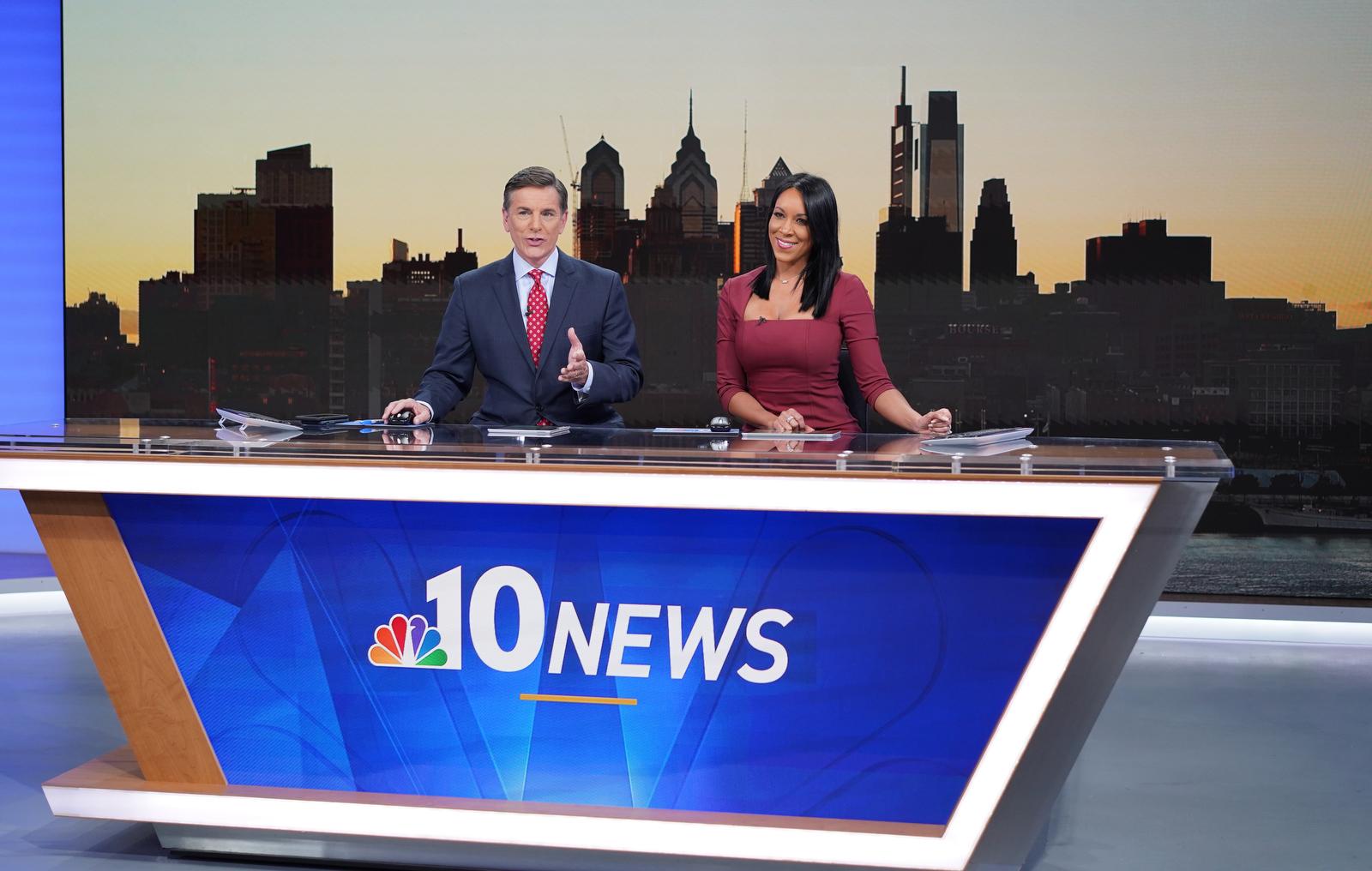 First NBC10 Philadelphia news broadcast