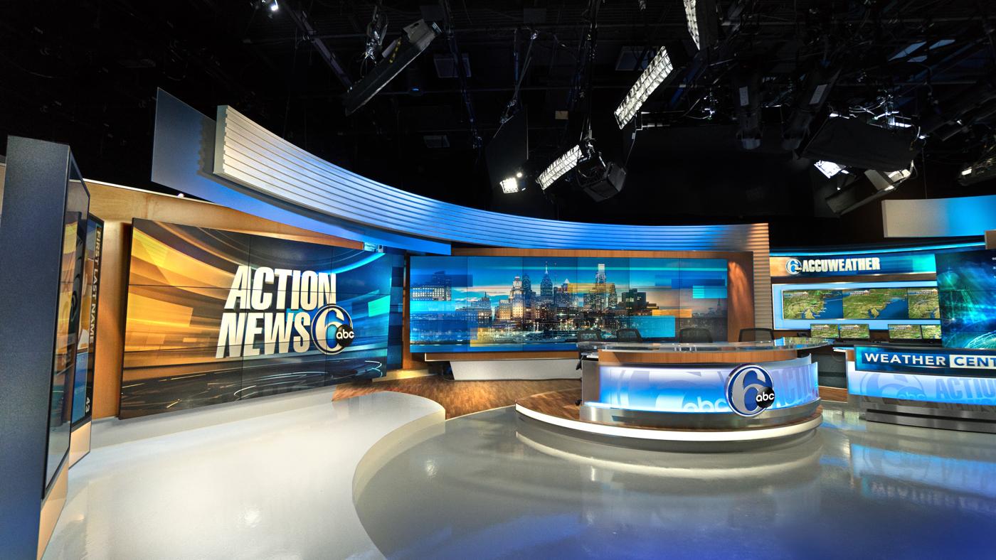 Wpvi Abc Action News Set Design Gallery