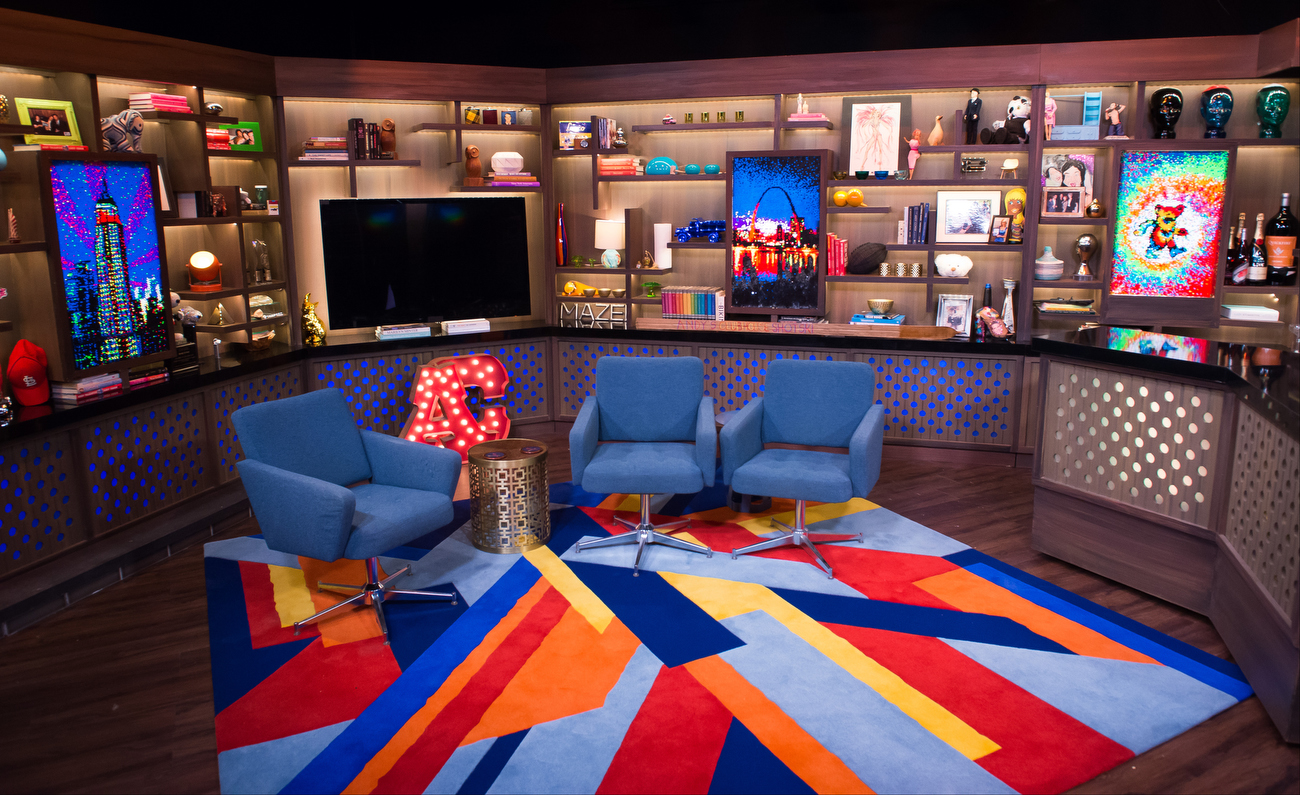 Design Gallery Live Watch What Happens Live Set Design Gallery