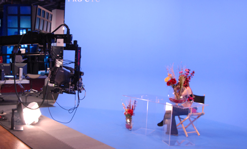 This image shows a Brainstorm America demo at NAB 2008.