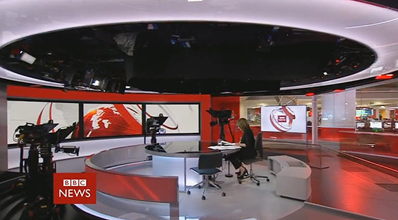 BBC News Studio E Set Design Gallery