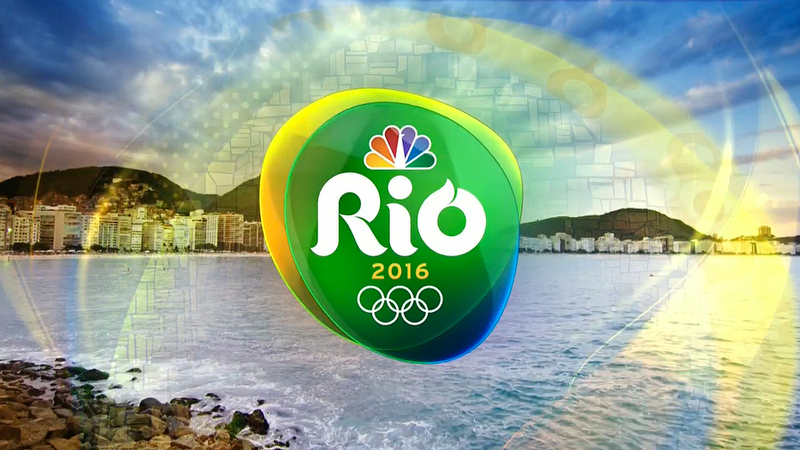 NBC Olympics in Rio Title Card