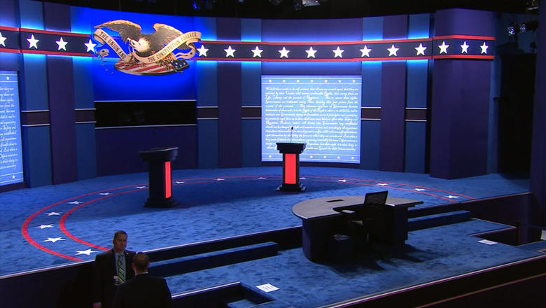 2016-presidential-debate-set