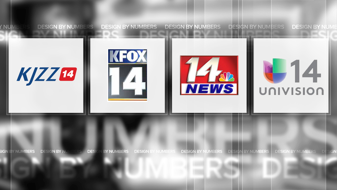 notable channel 14 tv station logo designs newscaststudio