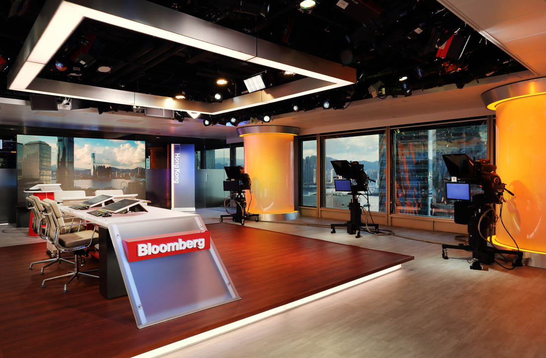 Bloomberg Launches Updated Hong Kong Studio To Bolster