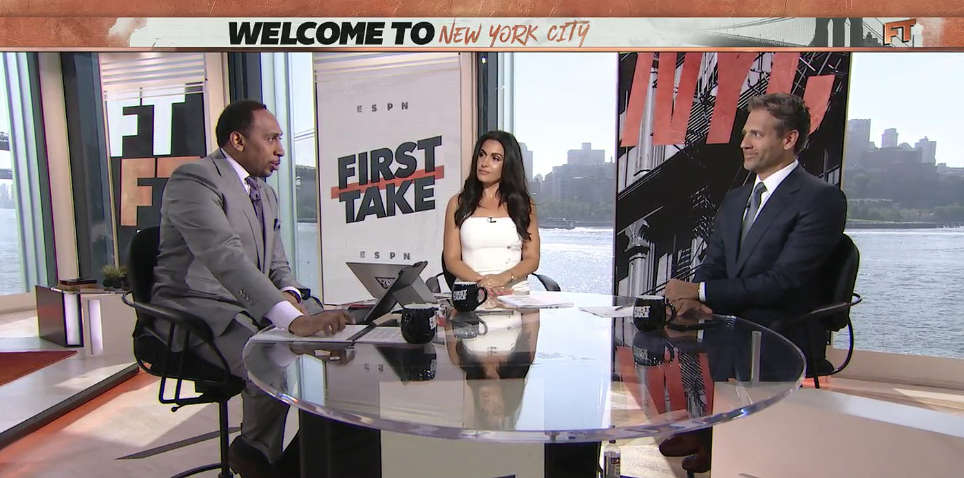 ESPN First Take - New York City studio by Clickspring Design
