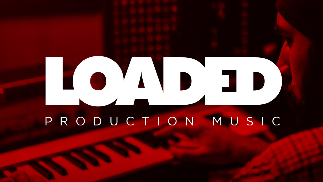 Loaded Production Music logo