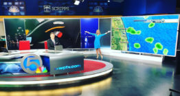 WPTV tv studio video wall