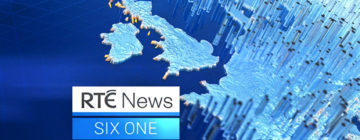 RTE News Ireland broadcast design and motion graphics