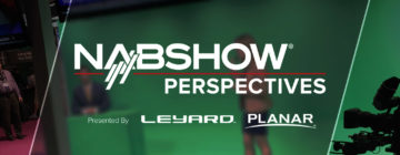 NAB Show technology announcements and new products in Las Vegas