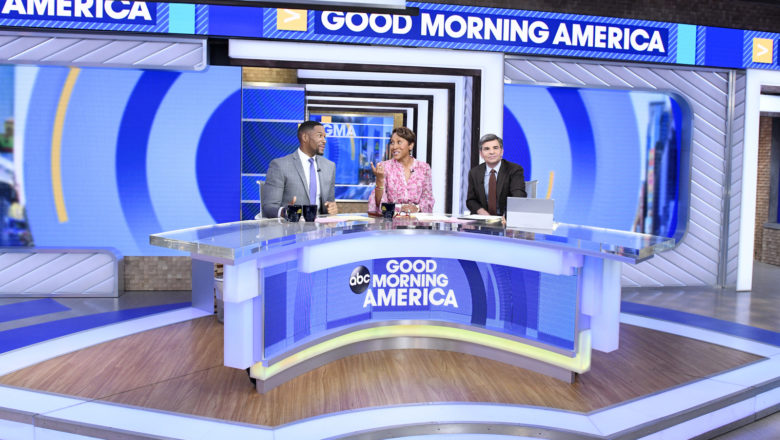 ABC's Good Morning America Times Square studio after April 2019 update