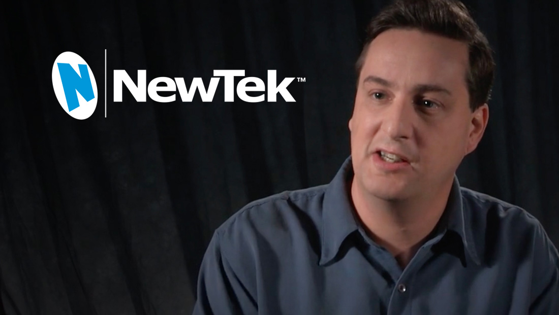 NewTek's Andrew Cross
