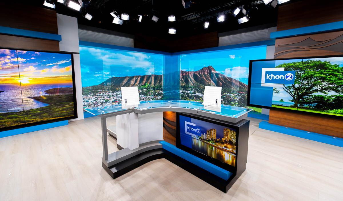 KHON 2 new studio
